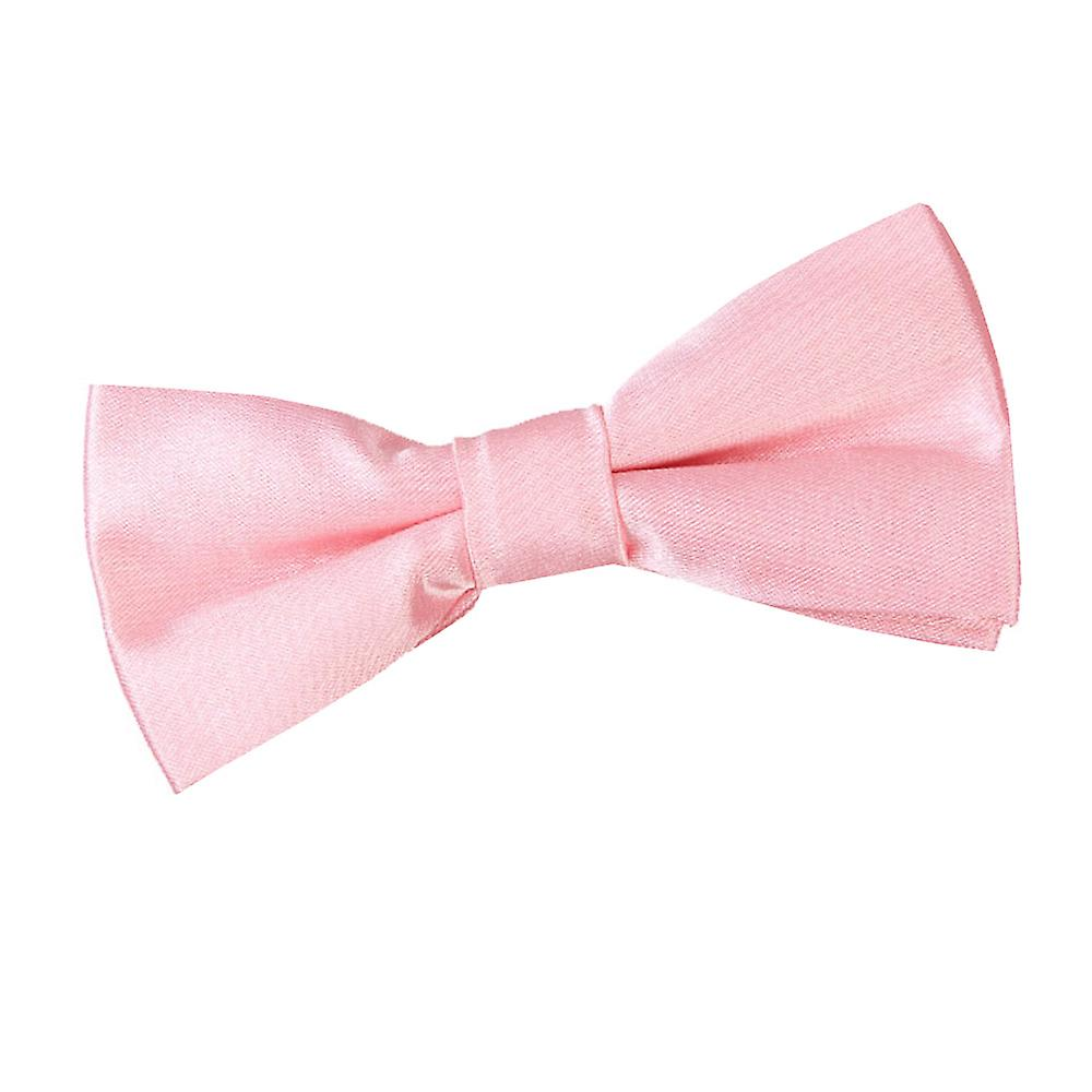 Pink bow tie wedding