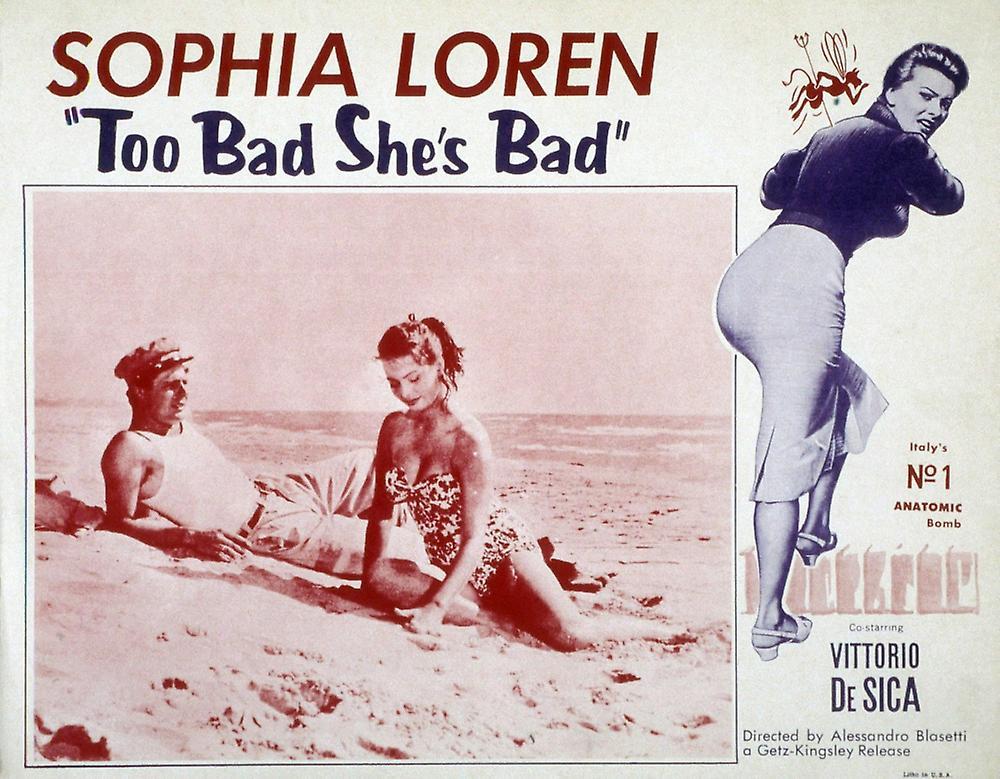 That Kind of Woman Poster Movie 11x17 Sophia Loren Tab