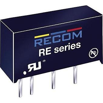 RECOM RE-0512S 1W DC/DC Converter RE-0512S voltage12 V 83 mA