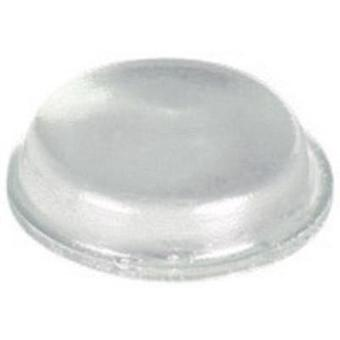 Feet self-adhesive, circular Clear (Ø x H) 12.7 mm x 3.5 mm PB Fastener BS-01-CL-R-10 10 pc(s)