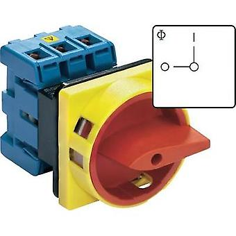 Isolator switch lockable 80 A 1 x 90 ° Red, Yellow Kraus & Naimer KG80 T203/01 E 1 pc(s)