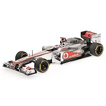 McLaren Mercedes MP4-27 (Jenson Button - Showcar 2012) modello Diecast