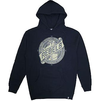 Rebel8 Sights Set Pullover Hoodie Navy
