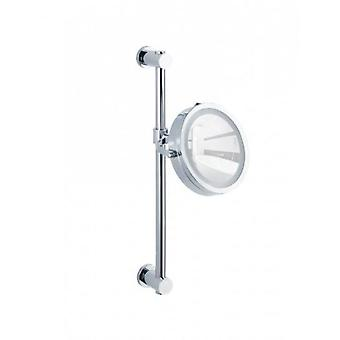 Wenko Power-Loc Wall Mirror  LED  Carpi (Home , Badkamer , Badkameraccessoires)
