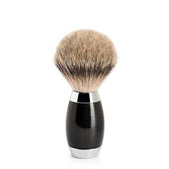 Muhle Edition Silvertip Badger Carbon Fibre Handle Shaving Brush