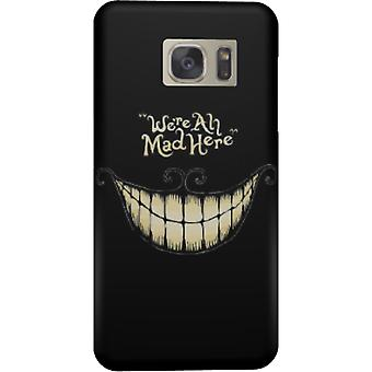 We are all mad here cover for Galaxy S7 Edge