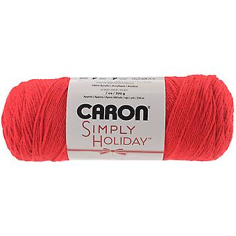 Simply Holiday Yarn-Red 294013-13729