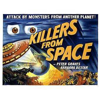 Killers From Space 1954 Movie Poster Masterprint