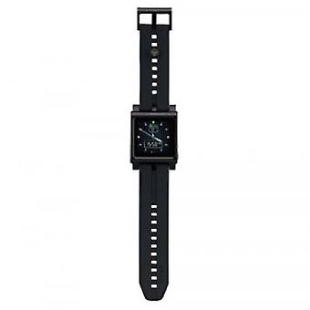 Ozaki iCoat Watch aluminum bracelet clock for iPod nano in black