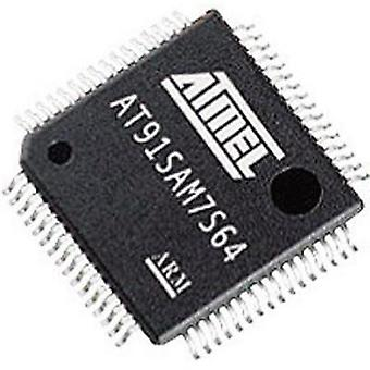Microchip Technology AT91SAM7S256C-AU-001 ARM Processor Microcontroller QFP 64