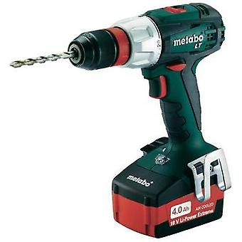 Metabo BS 18 LT Quick Cordless drill 18 V 4 Ah Li-ion incl. spare battery, incl. case