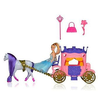 Dimasa Princess Carriage With Doll (Toys , Dolls And Accesories , Dolls , Dolls)