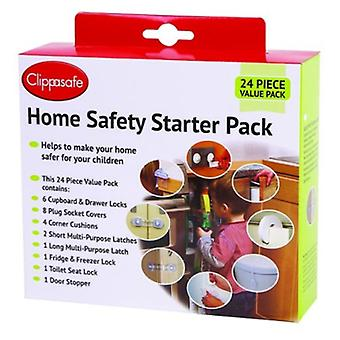 Clippasafe Set Safety Articles Home 24 Pieces (Furniture , Child's , Safety)