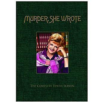 Murder She Wrote: Season Ten [DVD] USA import