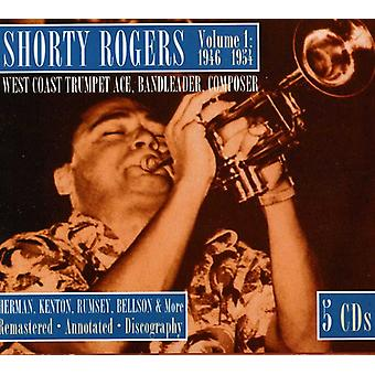 Shorty Rogers - volumen 1 de 1946 - 1954 costa oeste trompeta [CD] USA importar
