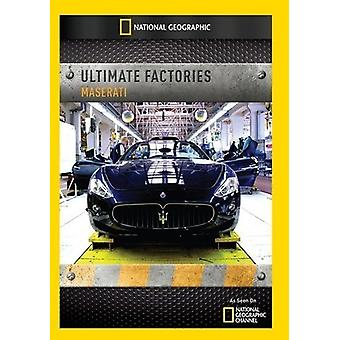 Ultimate Factories: Maserati [DVD] USA import