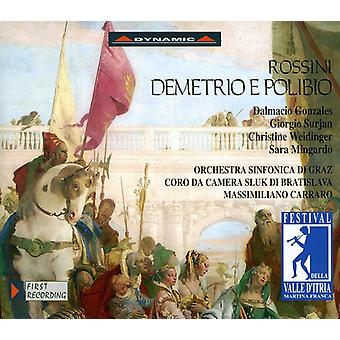 G. Rossini - Rossini: Demetrio E Polibio [CD] USA import