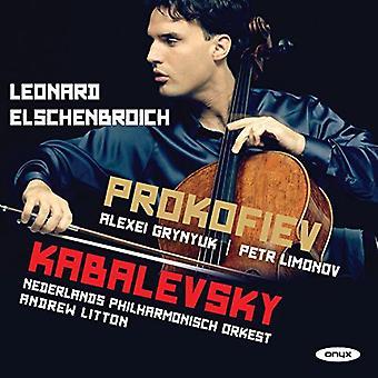 Kabalevsky / Prokofiev / Elschenbroich - Cello Con 2 novelle [CD] USA import