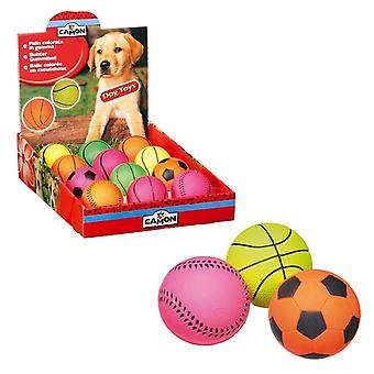 Camon Sports Rubber balls 45 mm (Dogs , Toys & Sport , Balls)