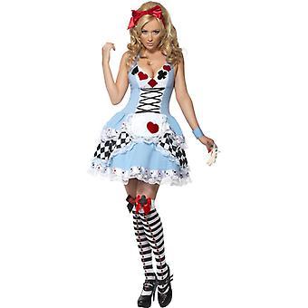 Alice fairytale kostym 2-piece Saga klänning dam