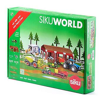 Siku Stable Sikuworld (Toys , Dolls And Accesories , Miniature Toys , Stages)