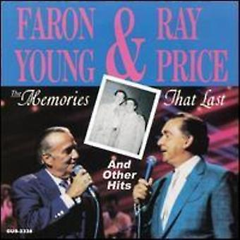 Young, Faron / Price, Ray - Memories That Last & Other Hits [CD] USA import
