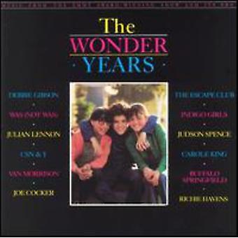 Años de maravilla - importación de Estados Unidos galardonado con el Premio de música Show [CD]