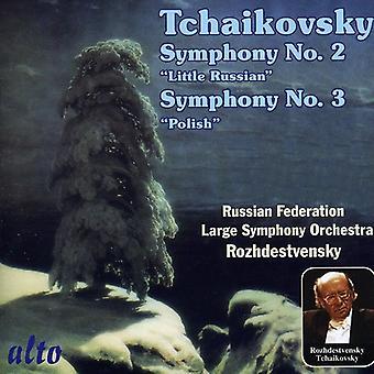 P.I. Tchaikovsky - Tchaikovsky: Symphony No. 2; Symphony No. 3 [CD] USA import