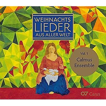 Austin / Calmus Ensemble - julesange verden 1 [CD] USA import
