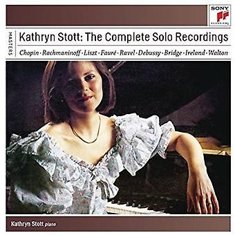 Kathryn Stott - Kathryn Stott: Komplet Solo optagelser [CD] USA import
