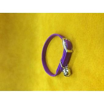 Cat Collar Nylon Stretch Purple