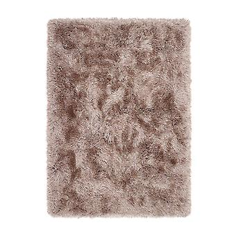 Extravagance Shaggy Rugs In Mink