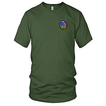 US Navy SS-342 USS Chopper Embroidered Patch - Mens T Shirt