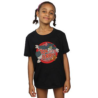 Tom And Jerry Girls Classic Catch T-Shirt