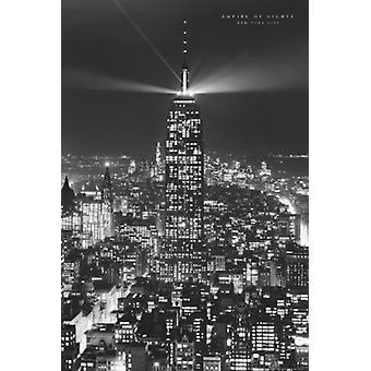 Empire Of Lights New York City Poster Print (24 x 36)