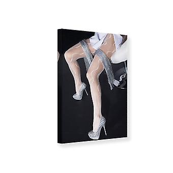 Leinwand drucken schöne Beine