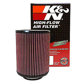 K&N RD-1460 Universal Clamp-On Air Filter: Round Straight; 4 in (102 mm) Flange ID; 9 in (229 mm) Height; 7 in (178 mm)