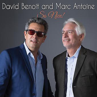 Benoit, David / Antoine, Marc - So Nice! [CD] USA import