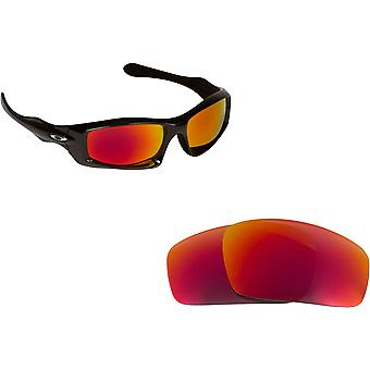 Best SEEK Polarized Replacement Lenses for Oakley MONSTER PUP Red Mirror