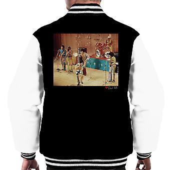 The Jackson 5 At The Royal Variety Performance Men's Varsity Jacket