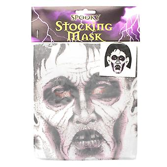 Adult Halloween Spooky Stocking Mask Fancy Dress Accessory-Dead Dracula