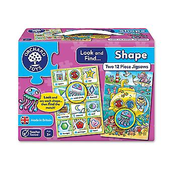Orchard Toys Look and Find Shape Jigsaw Puzzle