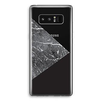 Samsung Galaxy Note 8 Transparant caixa (Soft) - combinação de mármore