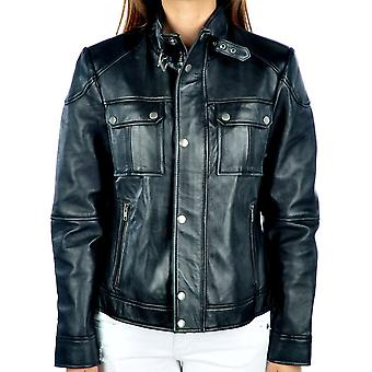 Chaffee Womens Leather Jacket