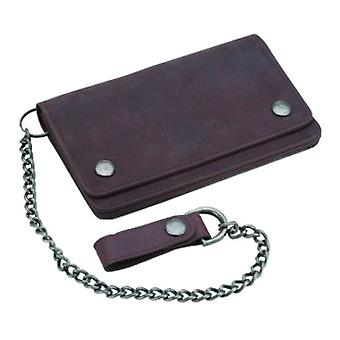 Dickies Deedsville Wallet and Chain - Brown