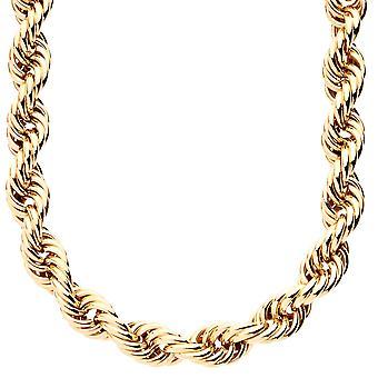 ロープ インヤン ツイスト チェーン ゴールド コード - 10 mm
