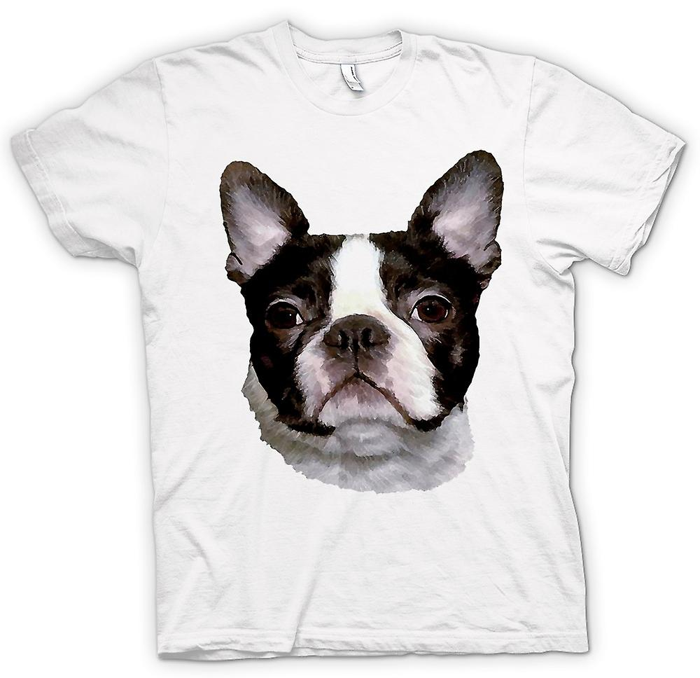 Womens T-shirt - Boston Terrier Pet - hund