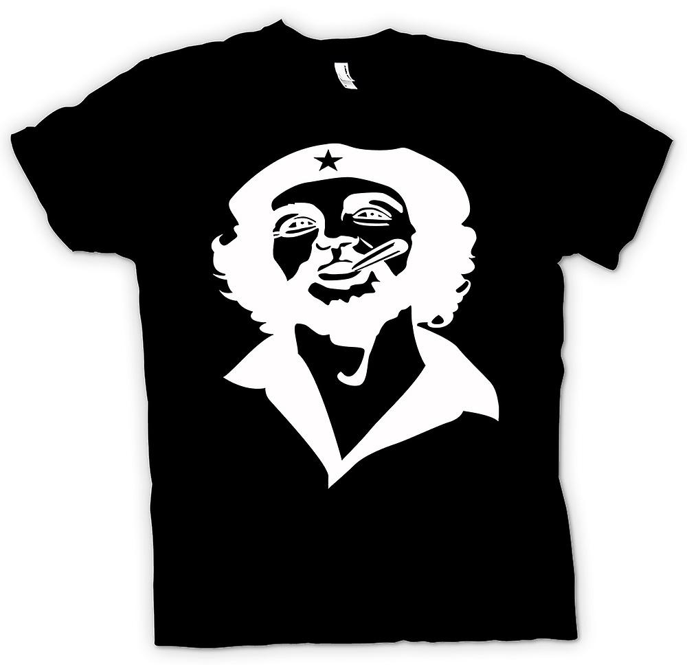 Mens T-shirt - Che Guevara Smoking Cigar