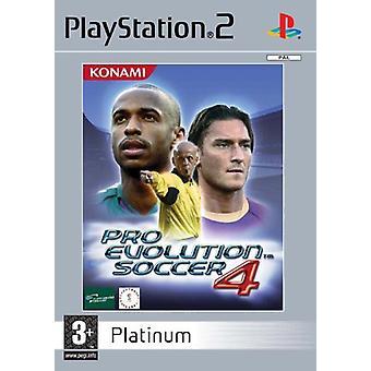 Pro Evolution Soccer 4 Platinum (PS2)