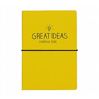 Great Ideas Notebook (A5) by Happy Jackson / Wild & Wolf